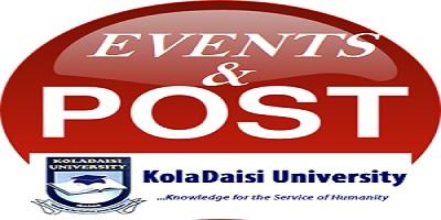 KDU EVENTS & POSTS