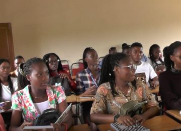 Students at lecture room