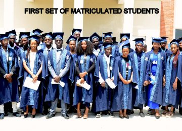 MAIDEN MATRICULATED STUDENTS