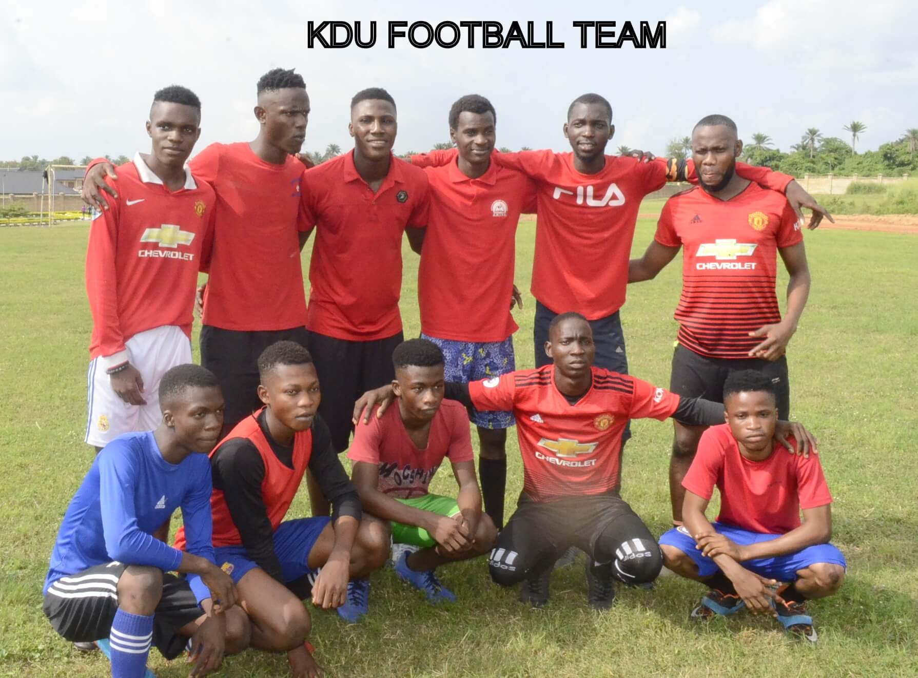 KDU-I FOOTBALL TEAM